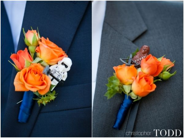 Star Wars Boutonniere's at Serra Plaza