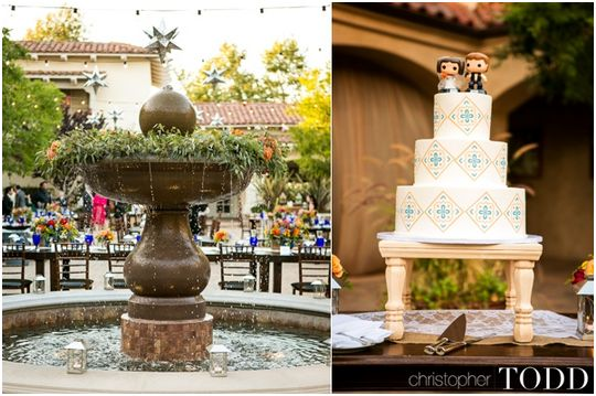Wedding Cake at Serra Plaza