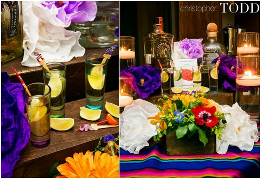 Wedding Tequila Station